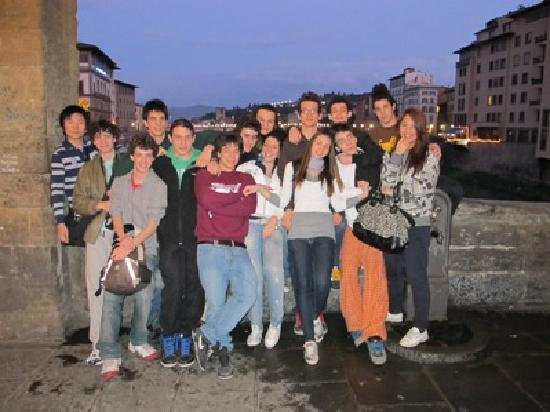 Florence Youth Hostel: guests