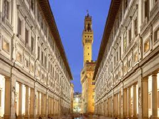 Florence Youth Hostel: uffizi gallery