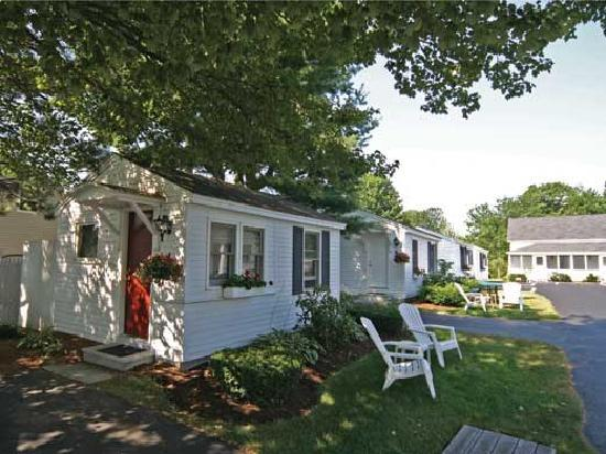 Wells, ME: Here is a close up of a couple of our cottages, which vary in number of bedrooms