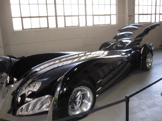 Burbank, : Clooney&#39;s Bat Mobile
