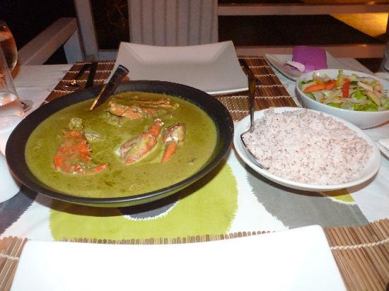 Casa Colvale : Delicious fresh Goan crab ...mmmm! 