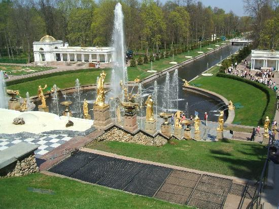 Peter's Palace, St.Petersburg, Russia