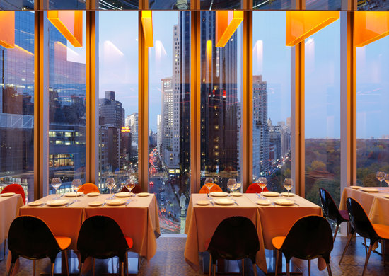 robert new york city menu prices restaurant reviews