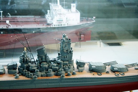 Yokohama, Japan: Scale ships.
