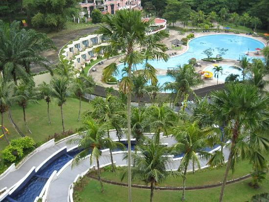 Klana Resort Seremban: View from my window
