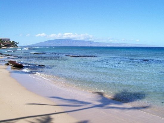 Hale Maui Apartment Hotel: Beach at the Hale Maui