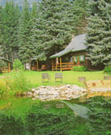 Eagle's Nest Cabins & Homes: Eagle's Nest Pond & Cabins
