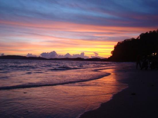 Sunset in Ao Nang Beach