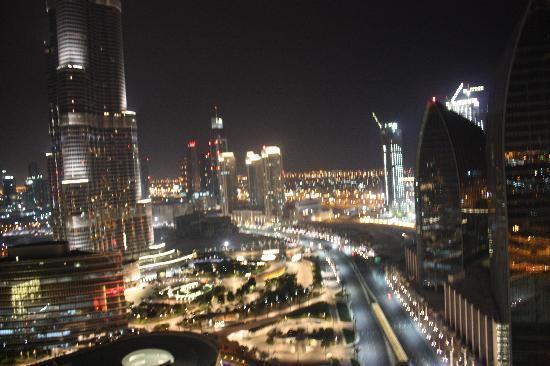 The Address Dubai Mall: view from my room