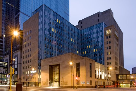 The Westin Minneapolis, located in downtown Minneapolis, walking distance to the Light Rail Tran