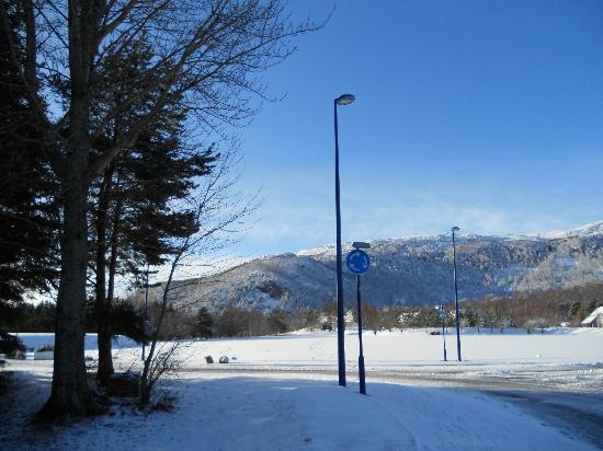 Aviemore, UK: Beautiful setting of Scandinavian Village