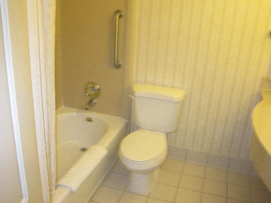 Hilton Garden Inn Portland Airport: Bathroom