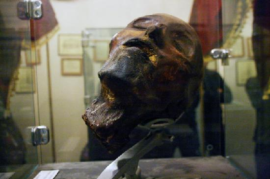 Mummified Head Picture Of Museum Of Death Los Angeles