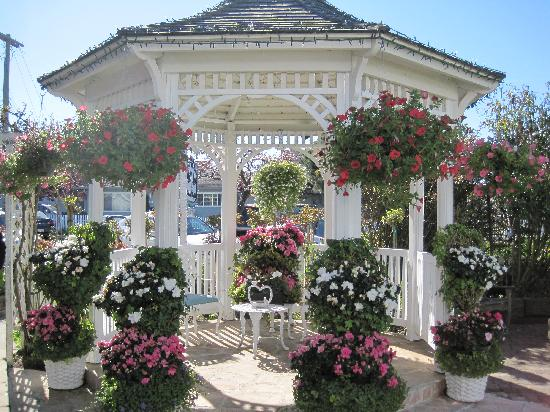 Beautiful garden gazebo Picture of Mill Rose Inn, Half