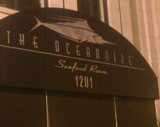 Oceanaire seafood room dc washington dc downtown for 1201 salon dc reviews