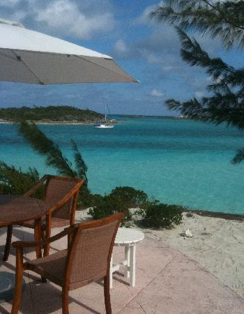 Fowl Cay Resort: Amazing view from our patio
