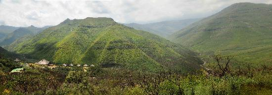 Tsehlanyane National Park, : Panorama of the Lodge