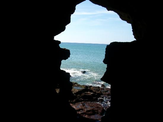 Tangier, Maroko: cueva en tanger