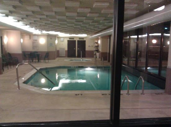 Drury Inn &amp; Suites Atlanta Northeast: View from outside the pool area (hot tub in the background)