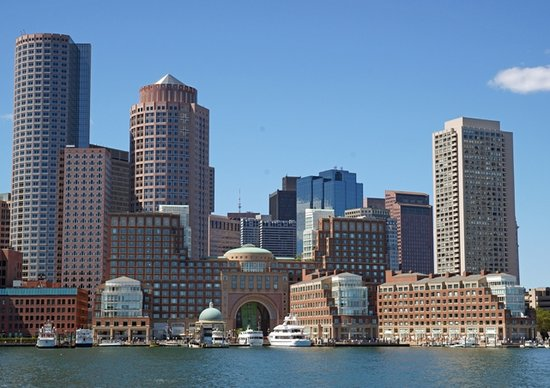 Boston Harbor Hotel: A view from the water