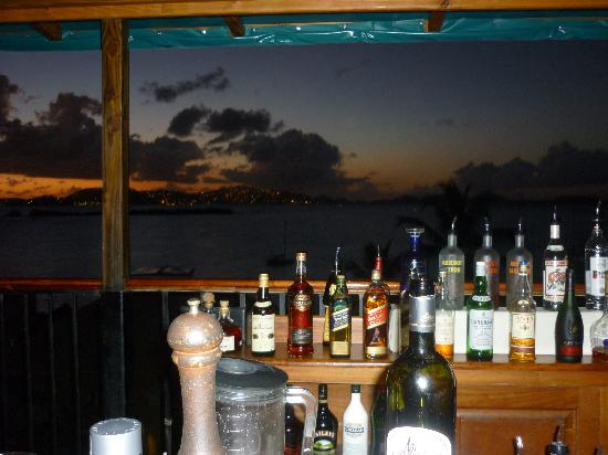 Inn at Tamarind Court: Sunset at the fabulous Zozo's Restaurant
