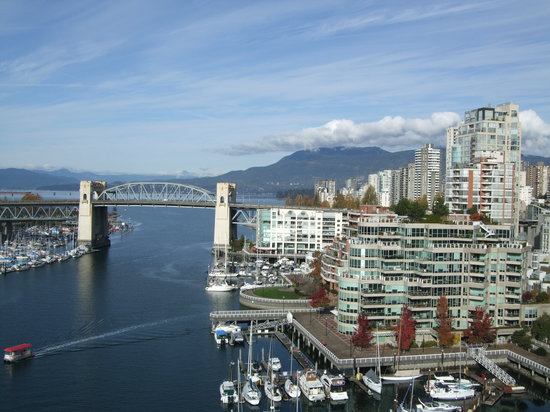 Vancouver, Kanada: Blick in die Stadt