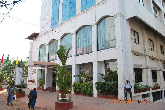 Kottayam, India: facade