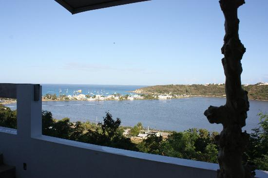 Ambia Boutique Hotel: View from balcony