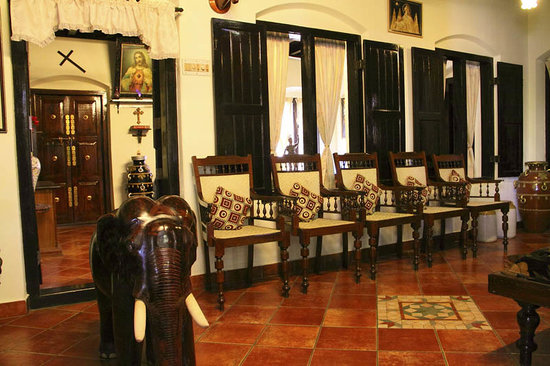 The Bungalow Heritage Homestay: hall