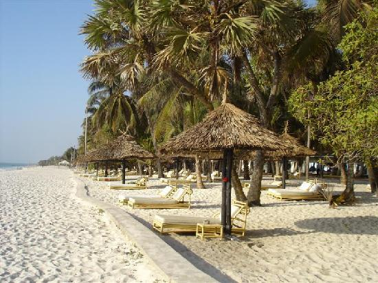 Diani Reef Beach Resort &amp; Spa: The hotel&#39;s private beach area