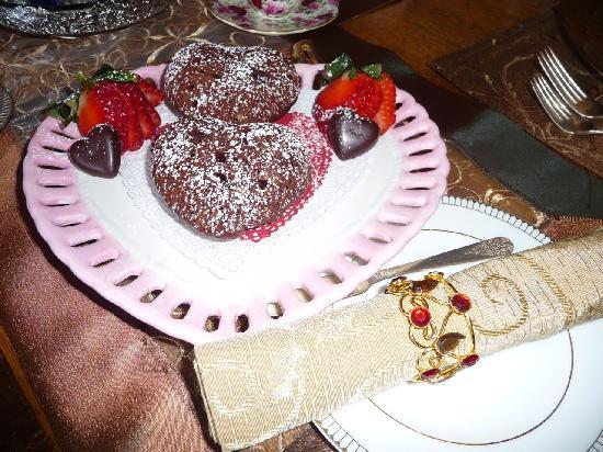"MacQueen's Manor Bed &  Breakfast: We made it for Valentine's and add a ""love"" themed breakfast."