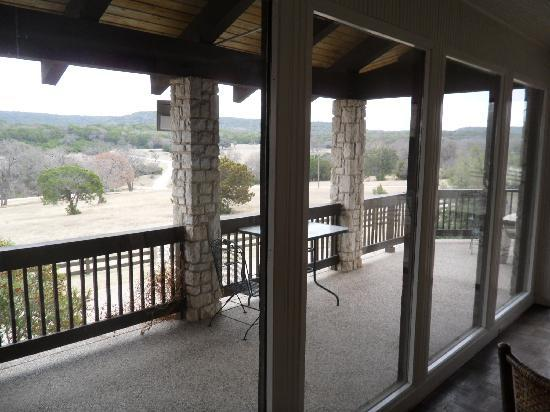 The Lodge at Fossil Rim: View from 2nd floor