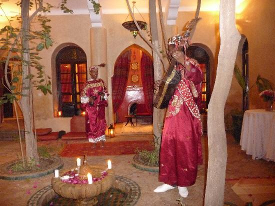 Riad Dama: Traditional music, bellydancers, and local food well worth 22 euros/head