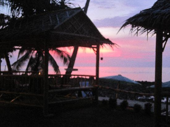 Nautilus Resort: sun set