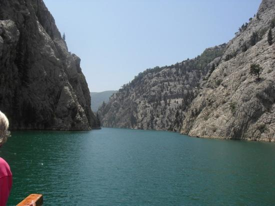 Alba Resort Hotel: Boat trip to the Taurus Mountains