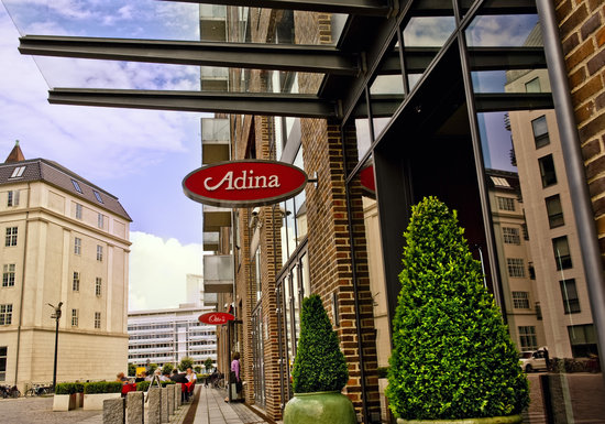 Adina Apartment Hotels CopenHagen: Hotel Entrance