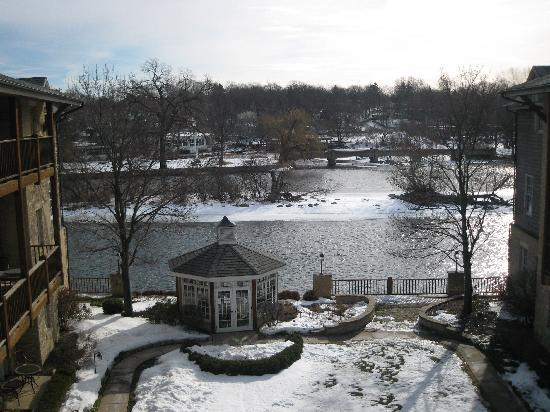 The Herrington Inn & Spa: View from balcony