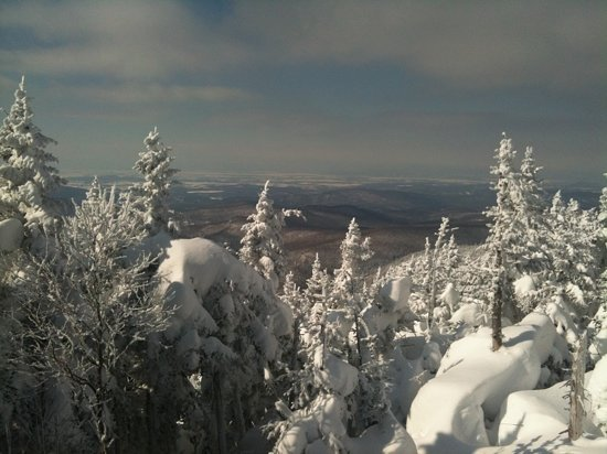 Waitsfield, VT: view from top of single chair