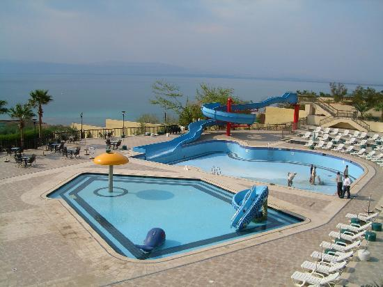 Dead Sea Region, Giordania: Dead Sea Spa Hotel: Poollandschaft