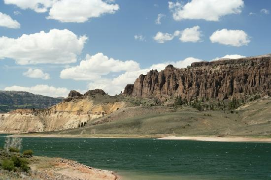 Gunnison, Κολοράντο: Dillon Pinnacles at Curecanti National Recreation Area, National Park Service Photo