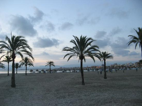 El Arenal, Spain: sunset S'Arenal, Mallorca