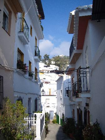 Torrox, Spanien: back streets