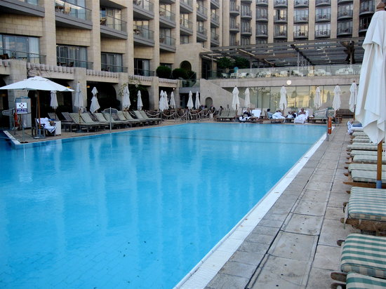 The David Citadel Hotel: Outdoor pool