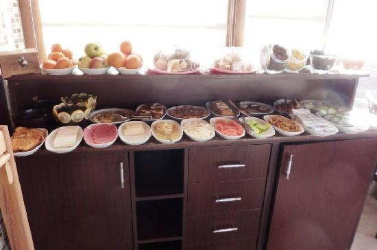 Berce Hotel Breakfast Buffet