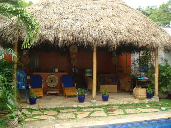 La Posada Azul: Great place by pool for margaritas