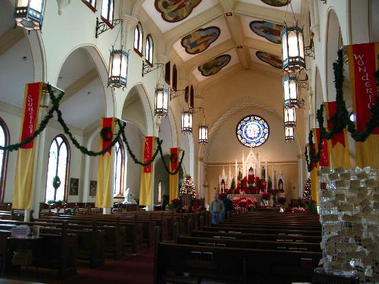 The Catholic Shrine of the Immaculate Conception: Immaculate Conception Church - interior
