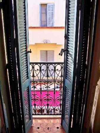 Hotel Cybelle: View from window