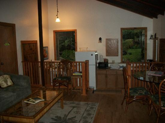 Volcano Guest House: Common area in Olapa House