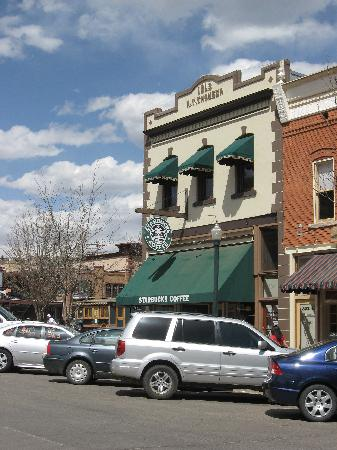 Durango Lodge: just a block away!