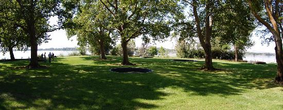 Basalt Story Circles at Sacajawea State Park in Pasco, Tri-Cities, WA - Photo by: Meaghan Stetzi